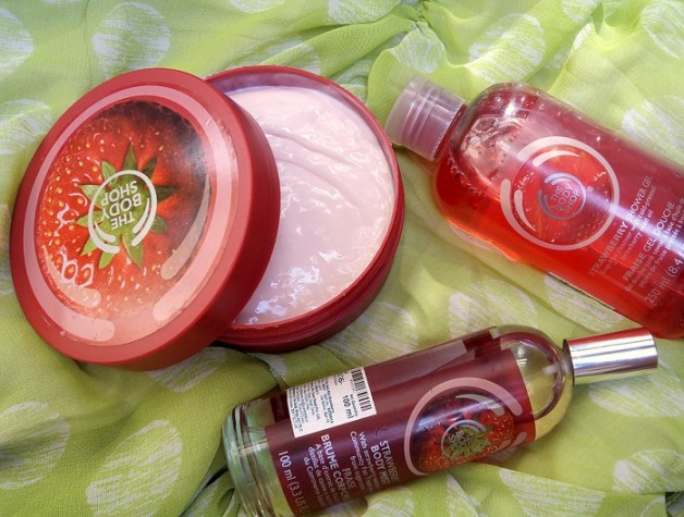 the body shop strawberry range reviews price