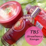 The Body Shop Strawberry Range Reviews: Body Butter, Body Mist, Shower Gel