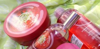 the body shop strawberry range shower gel body butter body mist reviews must haves
