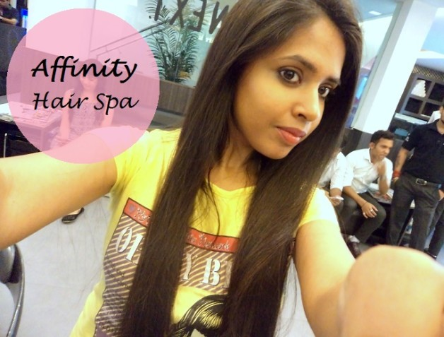 wella sp luxe oil hair spa experience affinity salon delhi