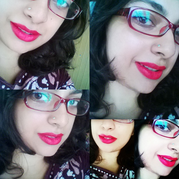 LOreal Paris Color Riche Moist Matte Lipstick Lincoln Rose review swatches fotd