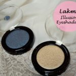 Lakme Absolute Color Illusion Pearl Eye Shadows Reviews and Swatches: Gold Pearl, Smoky Pearl