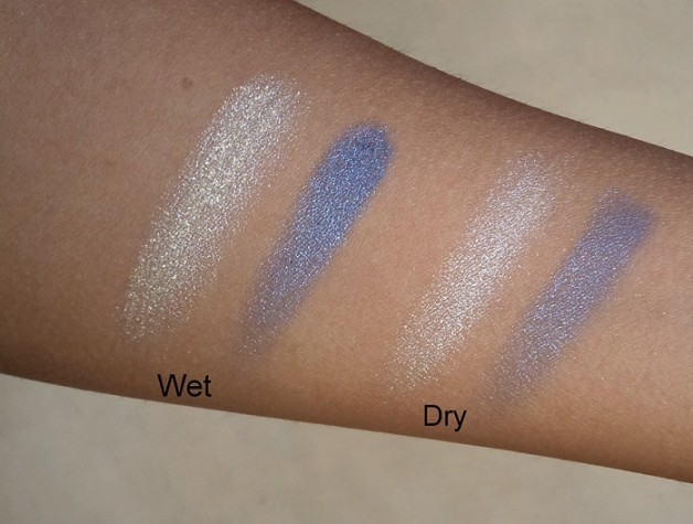 Lakme Absolute Color Illusion Eye Shadows reviews Swatches wet dry