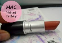 MAC Velvet Teddy Lipstick review swatches blog