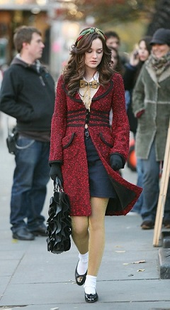 blair waldorf season1 ep13 Alannah Hill coat