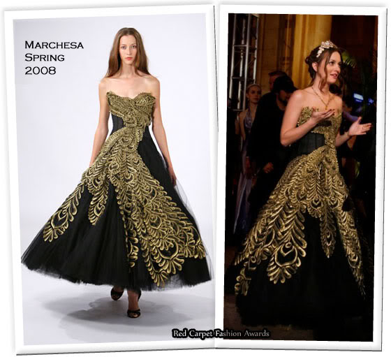 blair waldorf season2 ep24 marchesa peacock blue gown