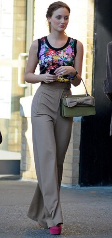blair waldrof season5 ep5 high waist pants