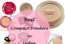 10 best compact face powders in india for oily dry skin