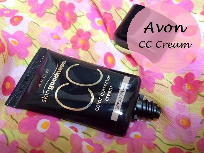 Avon skin Goodness CC cream Review blog