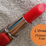 L'Oreal Paris Color Riche Moist Matte Lipstick Flaming Kiss: Review and Swatches