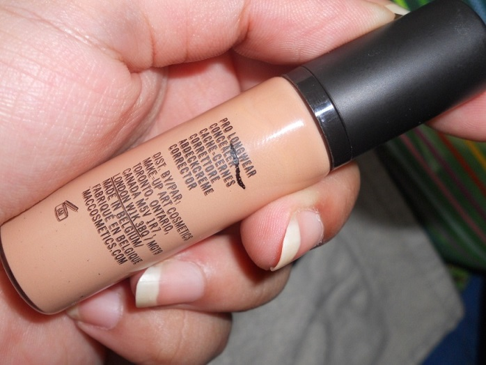 MAC Pro Longwear Concealer review swatches blog