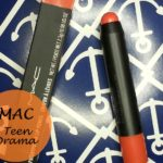 MAC Teen Dream Patentpolish Lip Pencil: Review, Swatches and FOTD