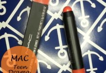MAC teen dra Patentpolish Lip Pencil review