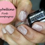 Maybelline Color Show Glitter Mania Pink Champagne Nail Polish: Review and Swatches