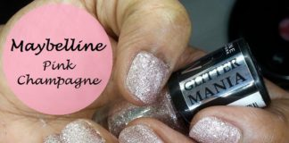 Maybelline Color Show Glitter Mania Pink Champagne review swatches india