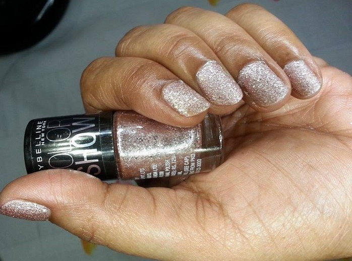 Maybelline Color Show Glitter Mania Pink Champagne review
