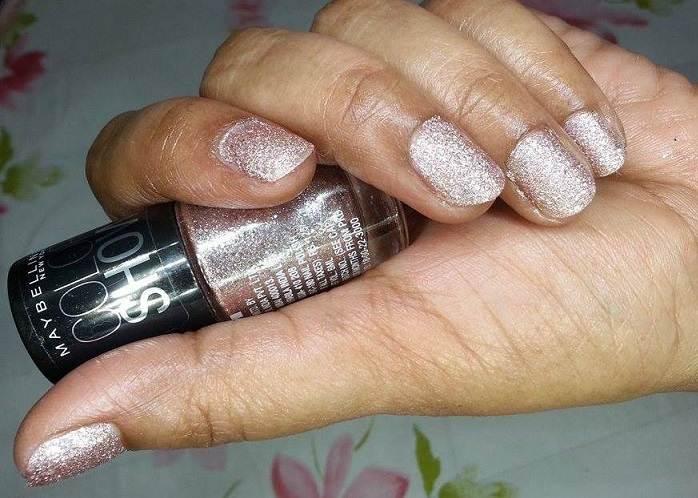 Maybelline Color Show Glitter Mania Pink Champagne reviews