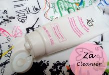 Za True White Cleansing Foam review blog