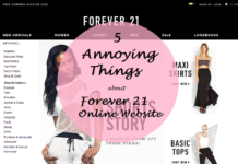 annoying things about forever 21 online india website and what to buy