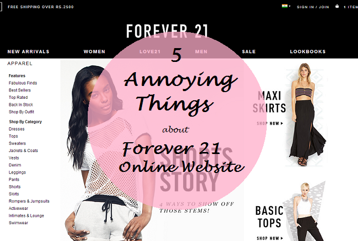 b9861d9c2b annoying things about forever 21 online india website and what to buy
