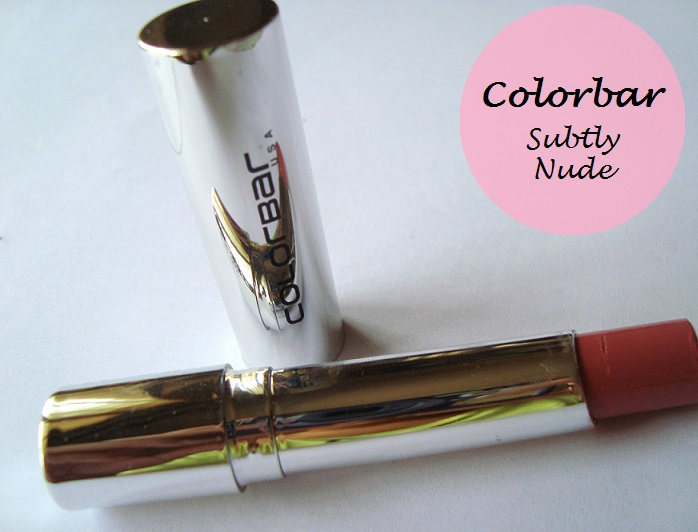 colorbar sheer creme lust lipstick subtly nude review swatches blog