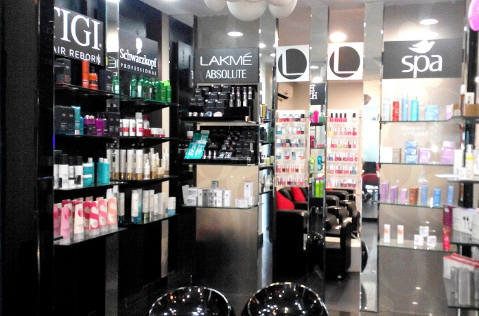 lakme absolute salon tigi retail counter