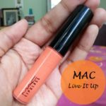 MAC Live It Up Lipglass Playland Collection: Review and Swatches