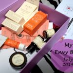 My Envy Box July 2014 Edition: Review and Samples Inside