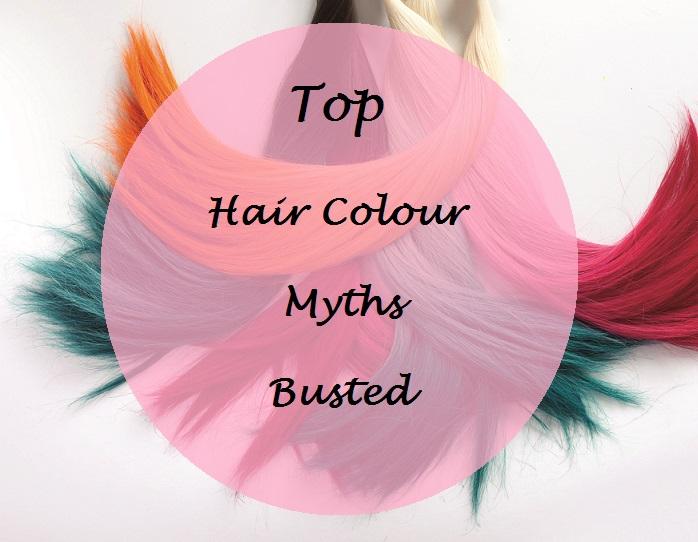 5 hair colour myths vs facts