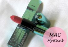 MAC Alluring Aquatic Mystical Lipstick review swatches blog