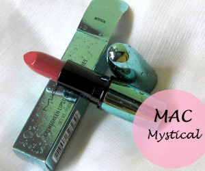 MAC Mystical Alluring Aquatic Lipstick: Review, Swatches and FOTD