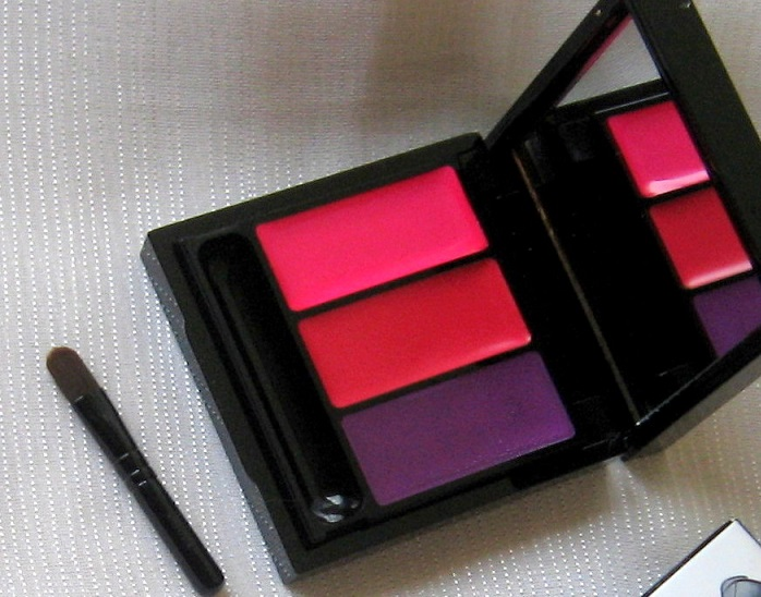 MAC Antonio Lopez 3 Lips Fuchsia Palette Review Swatches india