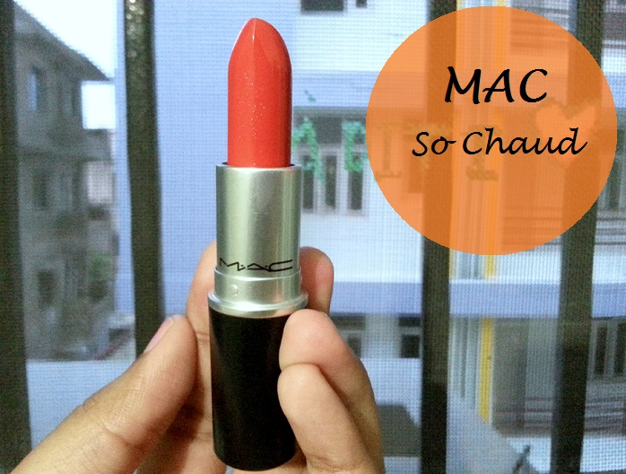 MAC So Chaud Lipstick Review Swatches india