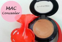 MAC Studio Finish SPF 35 Concealer review swatches blog