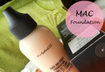 Mac Face and Body Foundation Review swatches blog