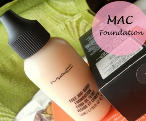 MAC Face and Body Foundation: Review, Swatches and FOTD