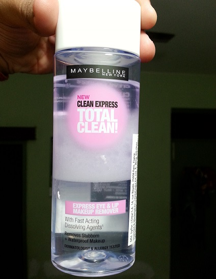 Maybelline Clean Express Total Clean Express Eye and Lip Makeup Remover review price