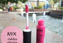 NYX Addis Ababa Soft Matte Lip Cream Review Swatches blog