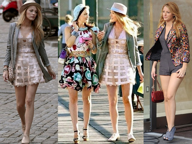 Serena van der Woodsen fashion inspiration