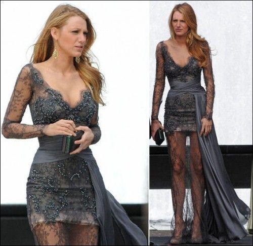 Serena van der Woodsen gossip girl street style