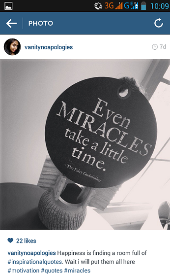 miracles take a little time inspirational quote