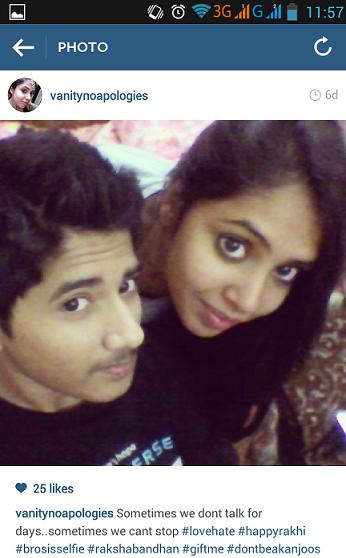 rakshabandhan selfie