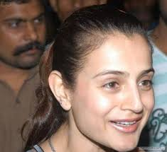 Ameesha Patel without makeup