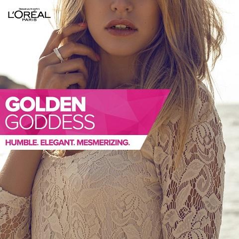 Golden Godess Loreal flipkart