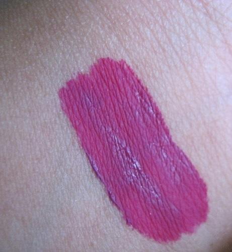 KAT VON D Everlasting Liquid Lipstick MAU5 review swatch