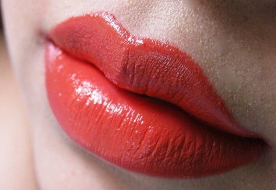 Nars Heat Wave Semi matte Lipstick review lip swatches