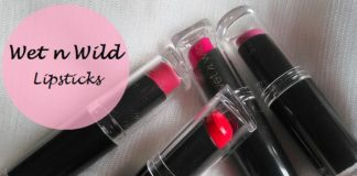 Wet n Wild Mega Last Lip Color review Cherry Picking Rose Bud Mauve Outta Here Coral line