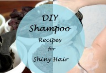 do it yourself home made shampoo recipe for healthy shiny hair