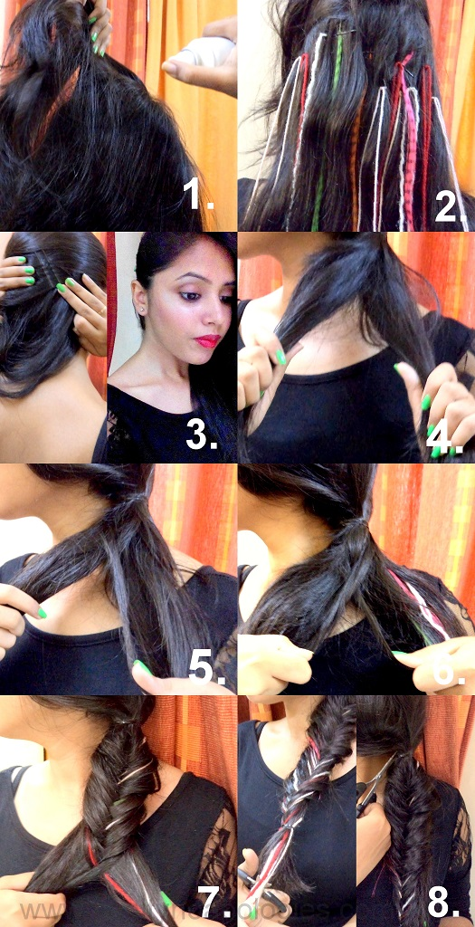 fishtail braid step by step pictures instructions do it yourself