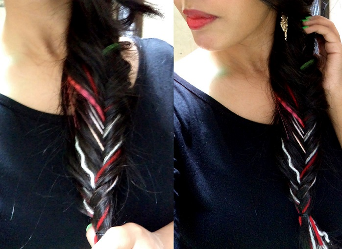 fishtail braid tutorial with pictures